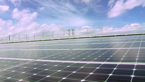 Solar-Panels-Are-Seen-On-Top-Of-A-Commercial-Building-1