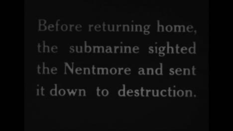 Confiscated-German-World-War-One-Film-Shows-Early-German-Submarines-Searching-And-Sinking-Vessels-1