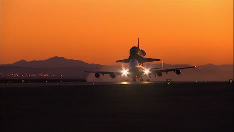 Nasa-747-Specially-Fitted-To-Carry-Space-Shuttle-Takes-Off