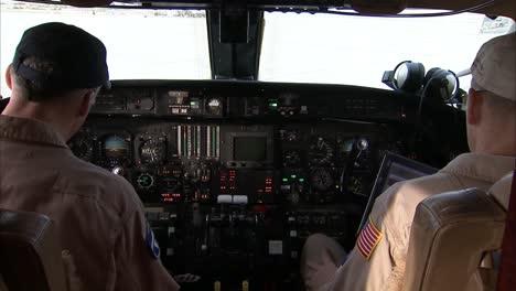 Interior-Cockpit-Of-A-Small-Jet-Plane
