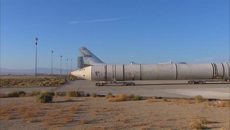 Two-Space-Shuttle-Solid-Rocket-Boosters-Arrive-At-Dryden