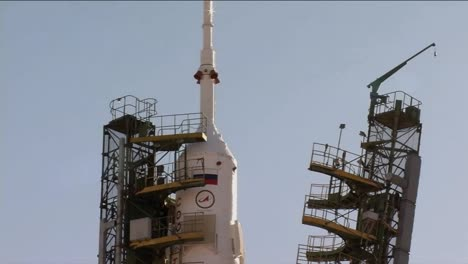 The-Soyuz-Spacecraft-Prepares-To-Launch-For-The-International-Space-Station