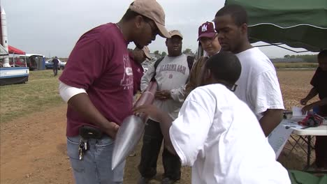Students-Launch-Rockets-At-A-Rocketry-Science-Competition