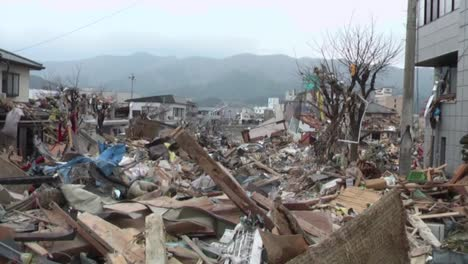Search-And-Rescue-Teams-Hunt-For-Survivors-Following-The-Devastating-Earthquake-And-Tsunami-In-Japan-In-2011
