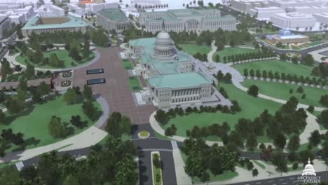 An-Animated-Fly-By-Of-The-United-States-Capitol-Building-In-Washington-Dc-1