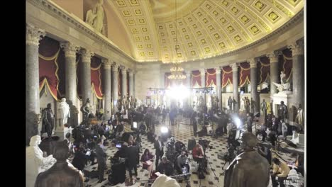 Time-Lapse-Shot-Of-A-Press-Event-In-The-Us-Capitol-Building