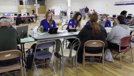 A-Fema-Disaster-Relief-Center-Handles-Claims-Following-A-Flood
