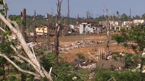 A-Devastating-Series-Of-Tornadoes-Hits-Tuscaloosa-Alabama-In-2012