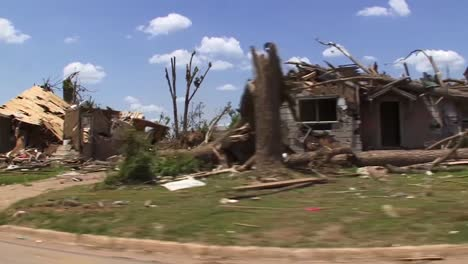 A-Devastating-Series-Of-Tornadoes-Hits-Tuscaloosa-Alabama-In-2014