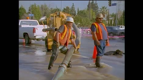 Flooding-From-Broken-Water-Mains-During-The-1994-Northridge-Earthquake