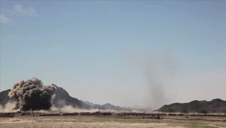 In-Helmand-Province-Afghanistan-Marines-And-Taliban-Exchange-Fire-1