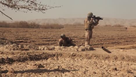Marines-Patrol-And-Fight-In-The-Sangin-Valley-Of-Afghanistan