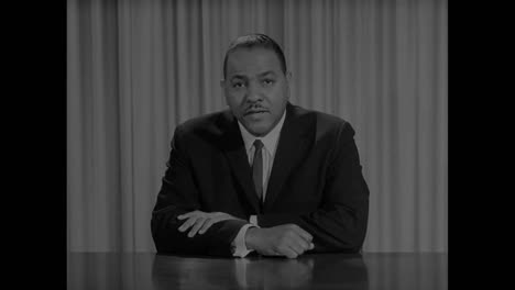 Carl-Rowan-Introduces-A-Documentary-About-The-Civil-Rights-Movement-In-1963