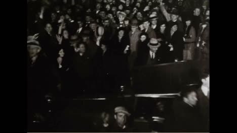 New-Year-Celebrations-For-1933-In-New-York