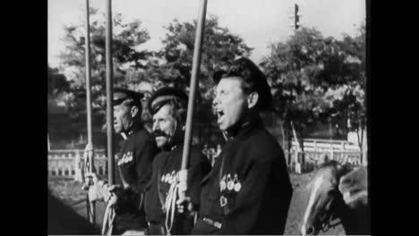Soviets-Show-Their-Skills-In-Horsemanship-In-1937