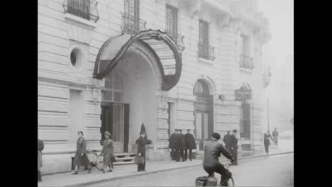 El-General-Eisenhower-Establece-Una-Sede-Permanente-Para-Ejecutar-El-Pacto-Atlántico-En-Un-Hotel-En-París-En-1937