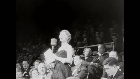Many-Celebrities-Go-To-A-Circus-At-Madison-Square-Garden-For-A-Heart-Fund-Benefit-In-1951