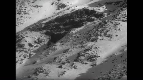 An-Avalanche-In-Switzerland-Threaten-To-Destroy-A-Village-In-1959