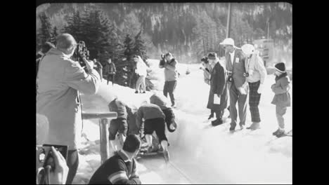 The-1959-World-Bobsled-Championships-In-Switzerland