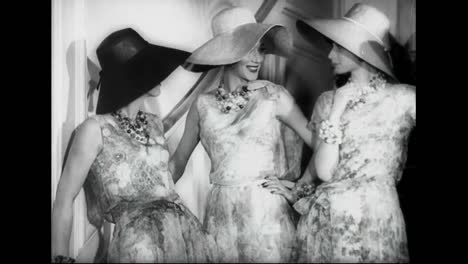 A-Preview-For-1961-Summer-Fashion-At-The-House-Of-Dior-In-Paris
