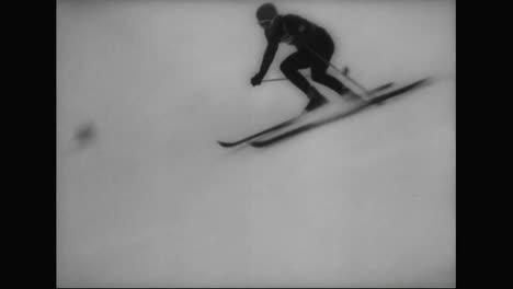 An-Austrians-Downhill-Ski-Performance-In-The-1964-Winter-Olympics