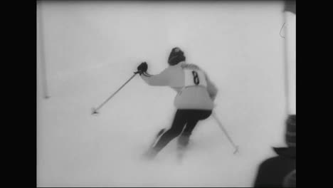 Francia-Recibe-Oro-Y-Plata-En-El-Esquí-Femenino-Incluso-En-Los-Juegos-Olímpicos-De-Invierno-De-1964