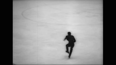 Mens-Figure-Skating-Event-In-The-1964-Winter-Olympic-Games
