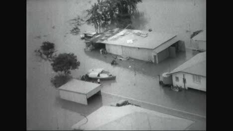 Torrential-Rain-Floods-Queensland-Australia-In-1967