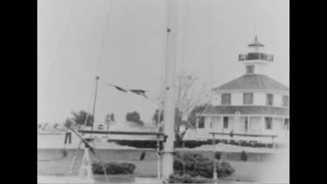 A-Hurricane-Hits-The-East-Coast-In-1956