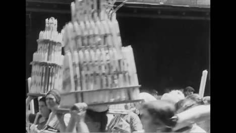 Riots-Break-Out-In-Little-Italy-In-New-York-At-A-Holy-Celebration-In-1931