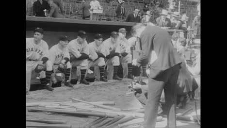The-1933-World-Series-Featuring-The-Giants-And-The-Senators