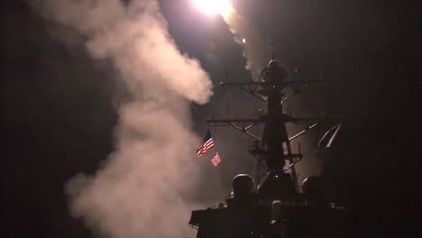 A-Us-Navy-Ship-Launches-Tomahawk-Missiles-Towards-Libyan-Targets-During-Operation-Odyssey-Dawn-3