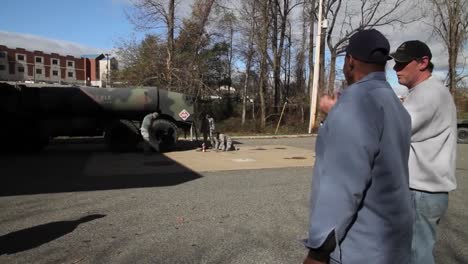 New-Jersey-National-Guard-Troops-Deliver-Fuel-To-Hurricane-Sandy-Victims-1