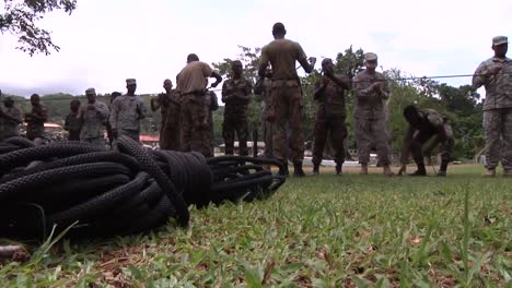 Us-Army-And-National-Guard-Troops-Train-Jamaicans-In-Basic-Skills