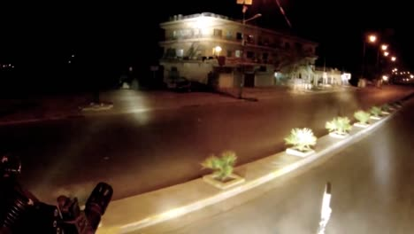 Go-Pro-Style-Footage-Of-A-Gunners-View-Of-A-Scout-Truck-At-The-Head-Of-A-Convoy-In-Iraq-1
