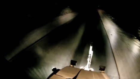 Go-Pro-Style-Footage-Of-A-Gunners-View-Of-A-Scout-Truck-At-The-Head-Of-A-Convoy-In-Iraq-2