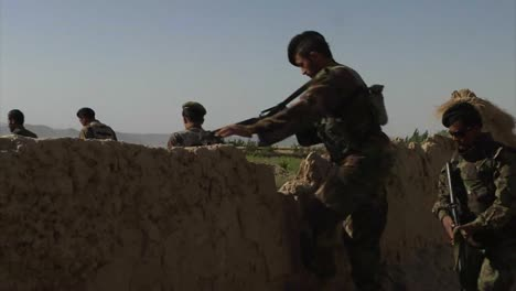 Soldiers-On-Patrol-In-Zabul-Province-Afghanistan-Shake-Hands-With-Villagers-And-Take-Prisoners