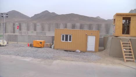 American-Soldiers-Man-A-Checkpoint-In-A-Remote-Checkpoint-Outpost-Of-Afghanistan