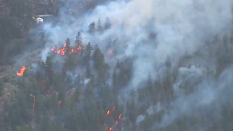 A-Helicopter-Makes-Water-Drops-On-A-Forest-Fire-1