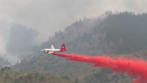 Fixed-Wing-Aircraft-Make-Fire-Retardant-Drops-On-The-High-Park-Fire-Burns-In-Colorado-1