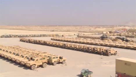 A-Vast-Amount-Of-Gear-And-Equipment-For-The-War-In-Afghanistan-Is-Staged-At-Bagram-Air-Force-Base