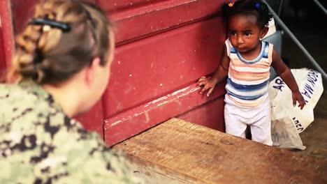 Navy-Volunteers-Build-A-School-In-Belize
