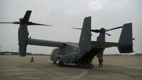 The-Osprey-Cv22-Helicopter-In-Preparation-For-Flight-1