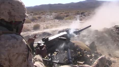 Marines-Fire-The-M240-Machine-Guns-In-A-Training-Exercise-In-Afghanistan-2