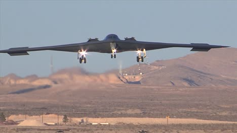 A-B2-Spy-Plane-Comes-In-For-A-Landing