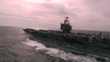 Good-Aerial-Over-An-Aircraft-Carrier-As-Sea-1