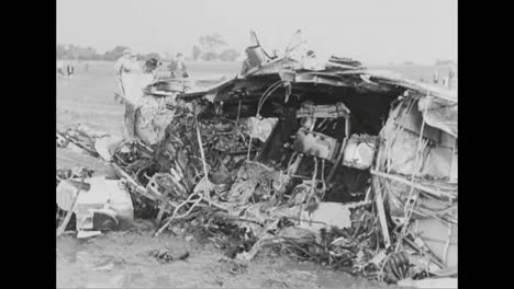 A-Us-Air-Force-Plane-Crashes-In-1938