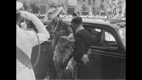 The-Duke-Of-Spoleto-Marries-Princess-Irene-Of-Greece-In-1939-In-Florence