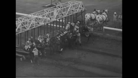 A-1939-Horse-Race-In-Hollywood-Park-California