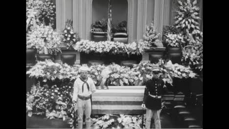 The-Funeral-For-Secretary-Of-The-Navy-Swanson-In-1939